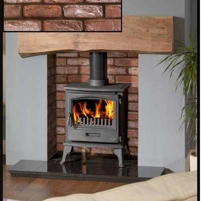 how to put bricks in a wood stove